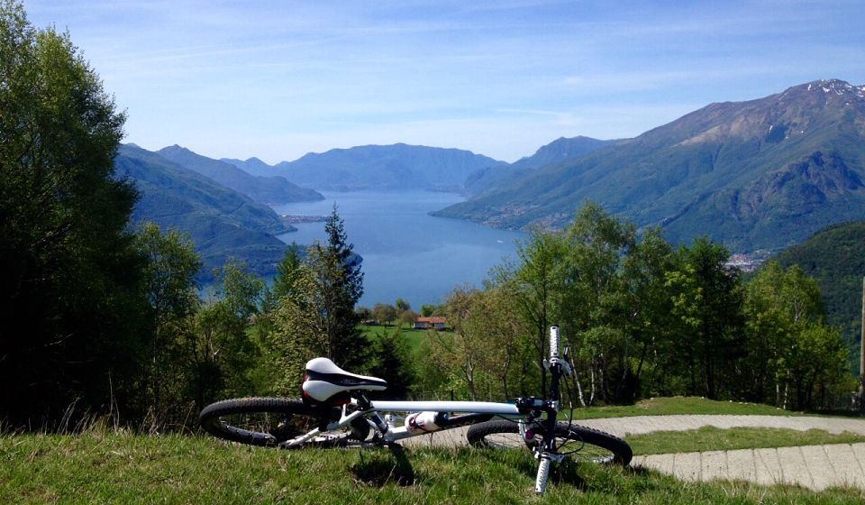 Mountain Bike Lago di Como Domaso