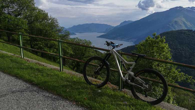 MOuntainbike am Comer See: Monti di Vercana Tour