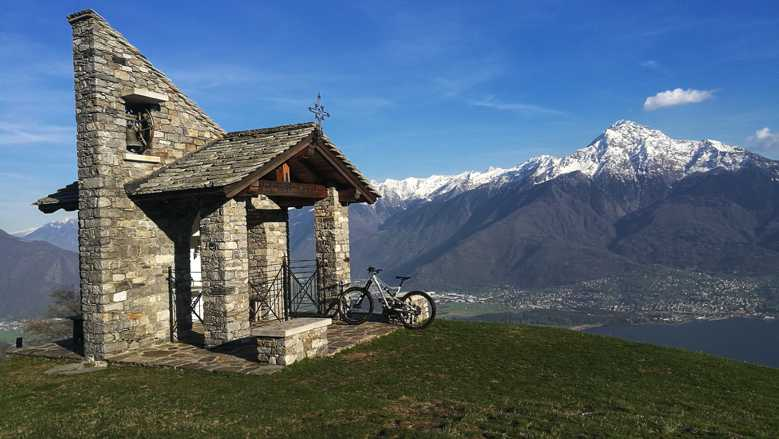 Mountainbike Tour am Comer See: Monti di Trezzone