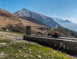 MTB trail at Lake Como: Berlinghera-Alpe Gigiai